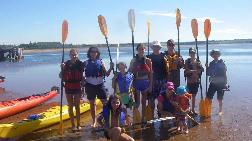 kayakers group