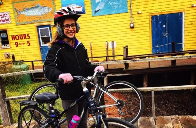 Bike Rental Girl